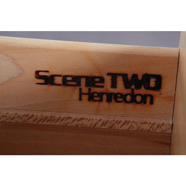 Burl Wood Long Dresser Credenza by Henredon For Sale - Image 12 of 13