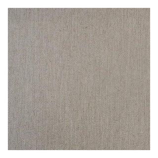 Herringbone Oyster Fabric - 1 Yard For Sale