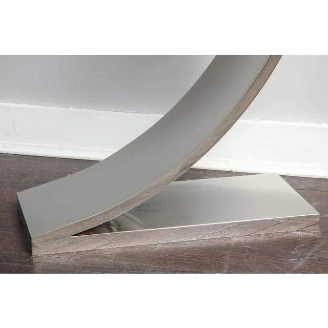 Modern Custom Z Side Table For Sale - Image 3 of 6