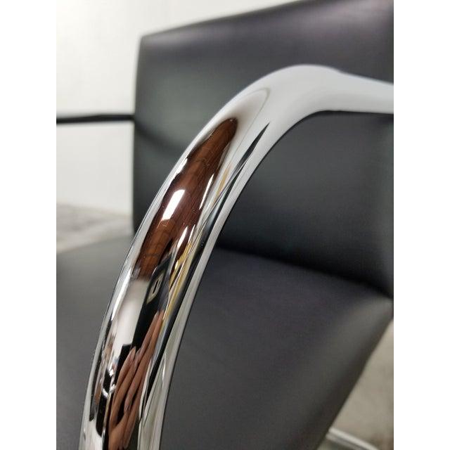 Original Knoll Brno Tubular Armchairs - Set of 6 For Sale - Image 10 of 13