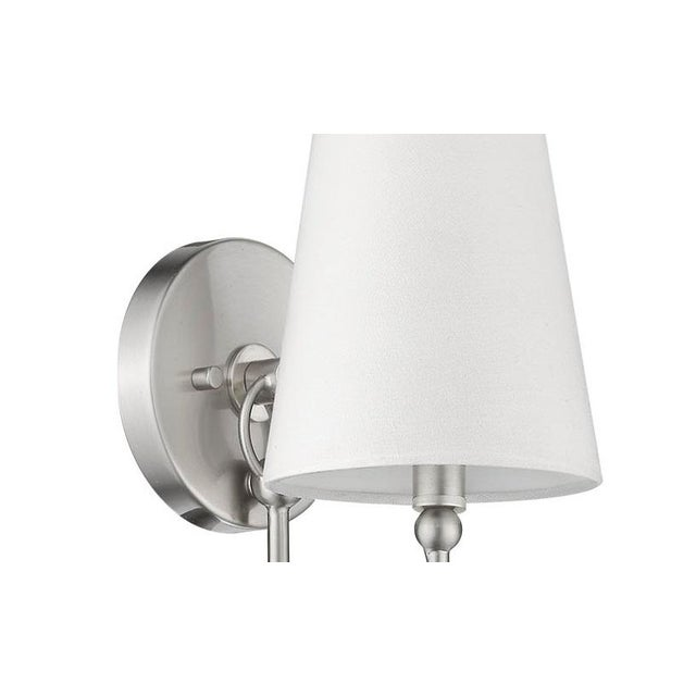 Signature 1 Light Sconce, Satin Nickel For Sale In Atlanta - Image 6 of 9
