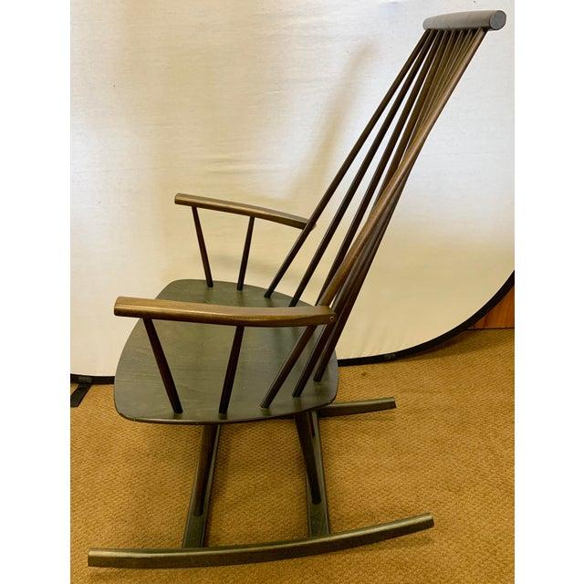 FDB Møbler Danish Mid Century Mobler Rocker Rocking Chair For Sale - Image 4 of 9