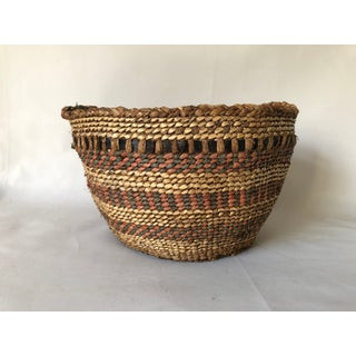 Antique Quinault Gathering Basket Preview