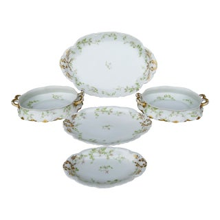 Haviland Limoges Serveware - 5 Pieces For Sale
