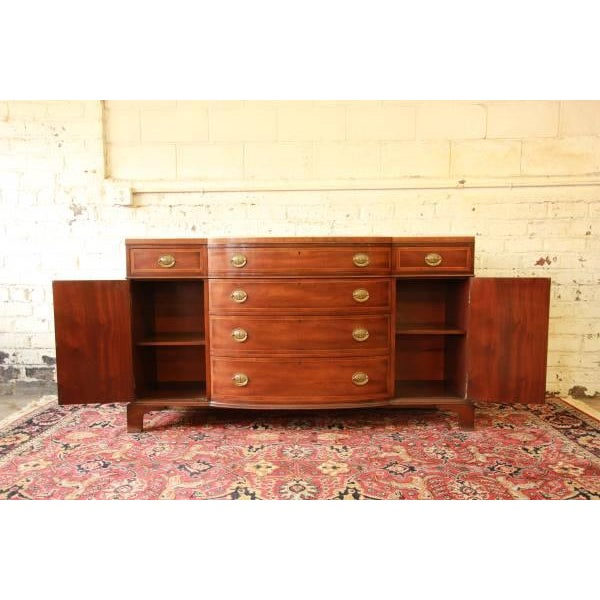 Vintage Mahogany Duncan Phyfe Buffet by Kittinger - Image 3 of 9