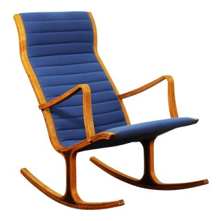 "Mitsumasa Sugasawa for Tendo Mokko ""Heron"" Rocking Chair For Sale"