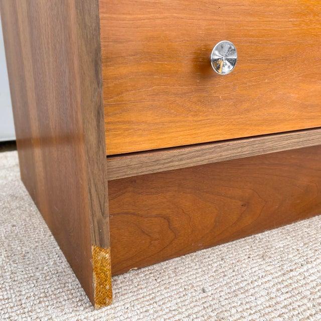 Vintage Modern Six Drawer Teak Dresser For Sale - Image 10 of 13