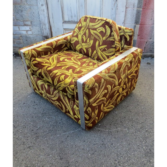Andy Warhol Inspired Banana Lounge Chair For Sale - Image 4 of 7