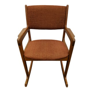 1970s Vintage Benny Linden Teak Rocker For Sale