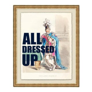 """""""All Dressed Up"""" Framed Print by Jo Sampson For Sale"""