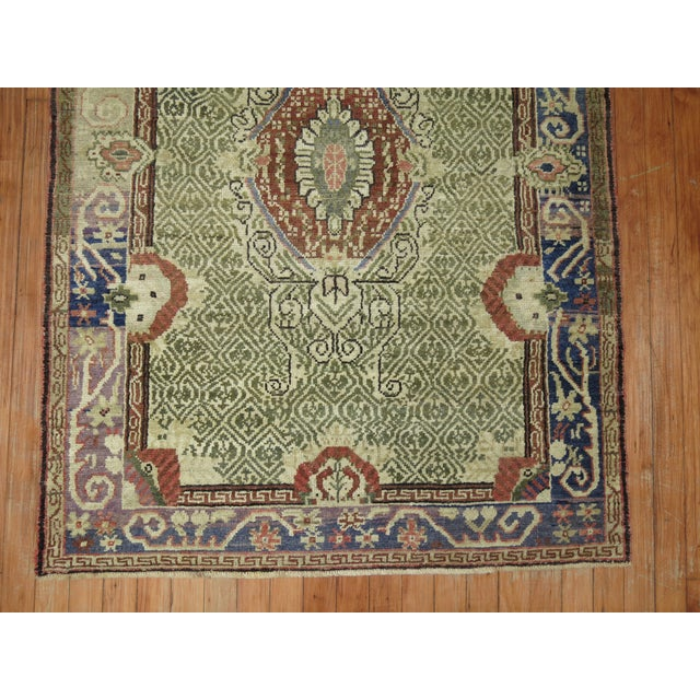 Antique Turkish Ghiordes Rug - 3'6'' x 5'3'' For Sale In New York - Image 6 of 7