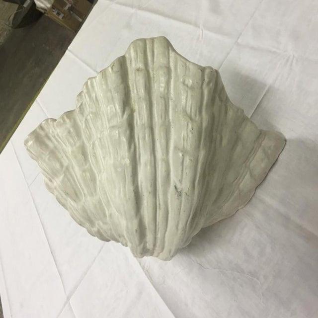 Jean Charles Moreux Pair of Plaster Corner Sconces For Sale - Image 6 of 7