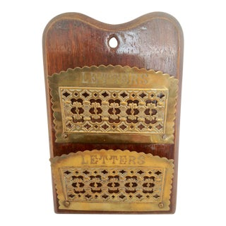 19th Century English Letter Holder For Sale