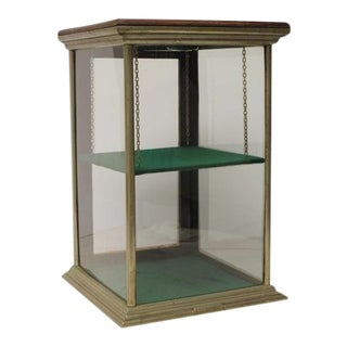 1900s Excelsior Company General Store Counter-Top Display Showcase For Sale