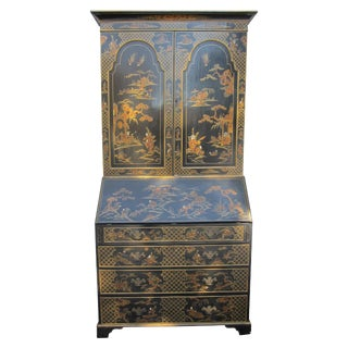 Chinoiserie Style Secretary For Sale