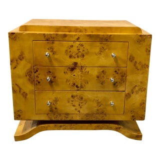 Burled Art Deco Chest of Drawers