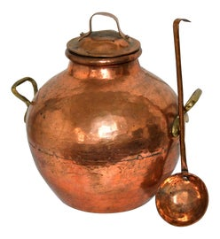 Image of Copper Bottles and Jars and Jugs