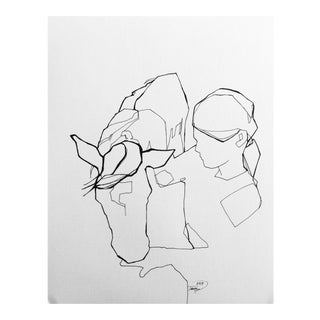 """Sweet Treats"" Figurative Line Drawing For Sale"