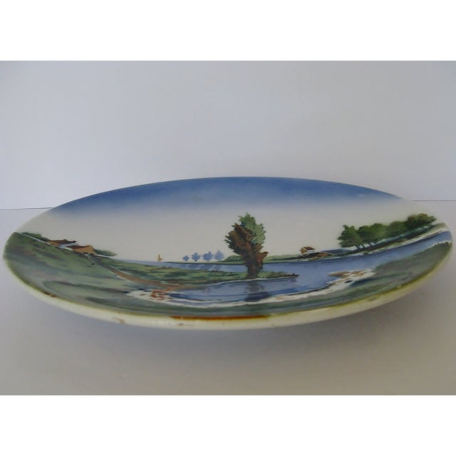 German Ceramic Wall Plate - Image 3 of 4