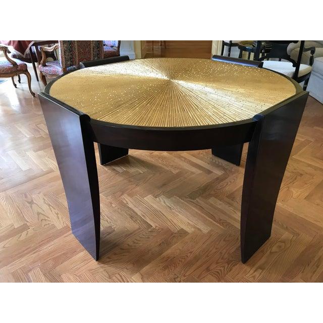 Thomas Pheasant for Baker Radiant Center Table For Sale In New York - Image 6 of 6
