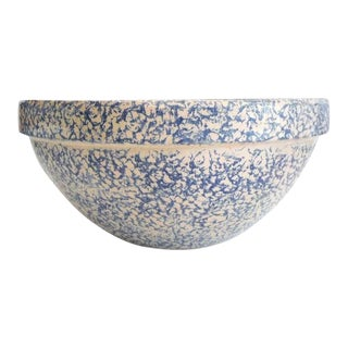 Robinson Ransbottom Spongeware Bowl For Sale