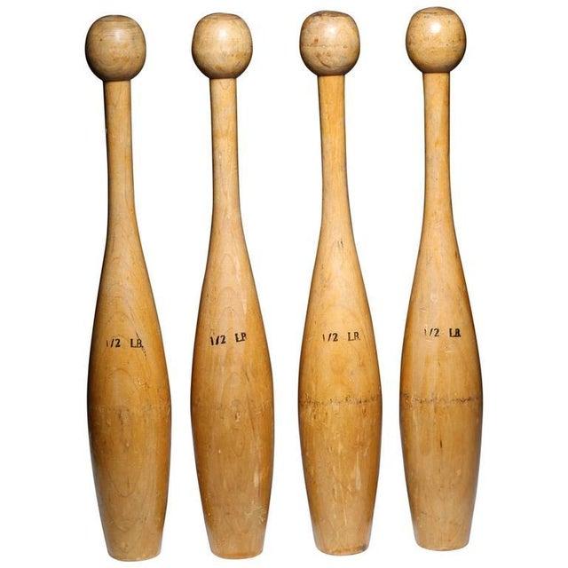 Vintage Juggling Pins - Set of 4 - Image 1 of 2