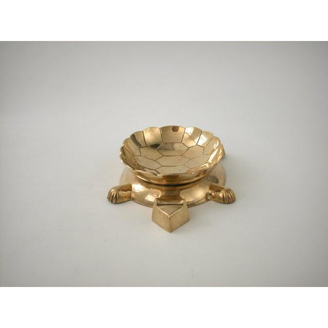Vintage Brass Turtle Bowl - Image 5 of 8
