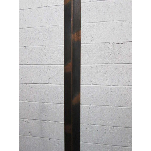 Early 20th Century Coppered Steel Coat Tree Stand For Sale - Image 5 of 6
