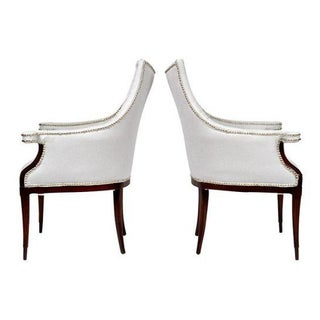Vintage Art Deco Club Armchairs- a Pair Preview