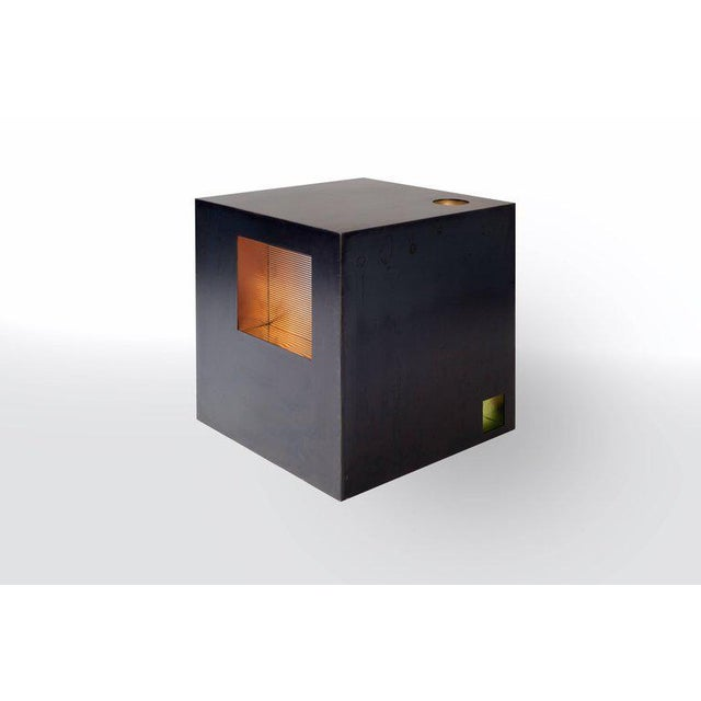 Harry Clark Cube Side Table by Harry Clark For Sale - Image 4 of 7