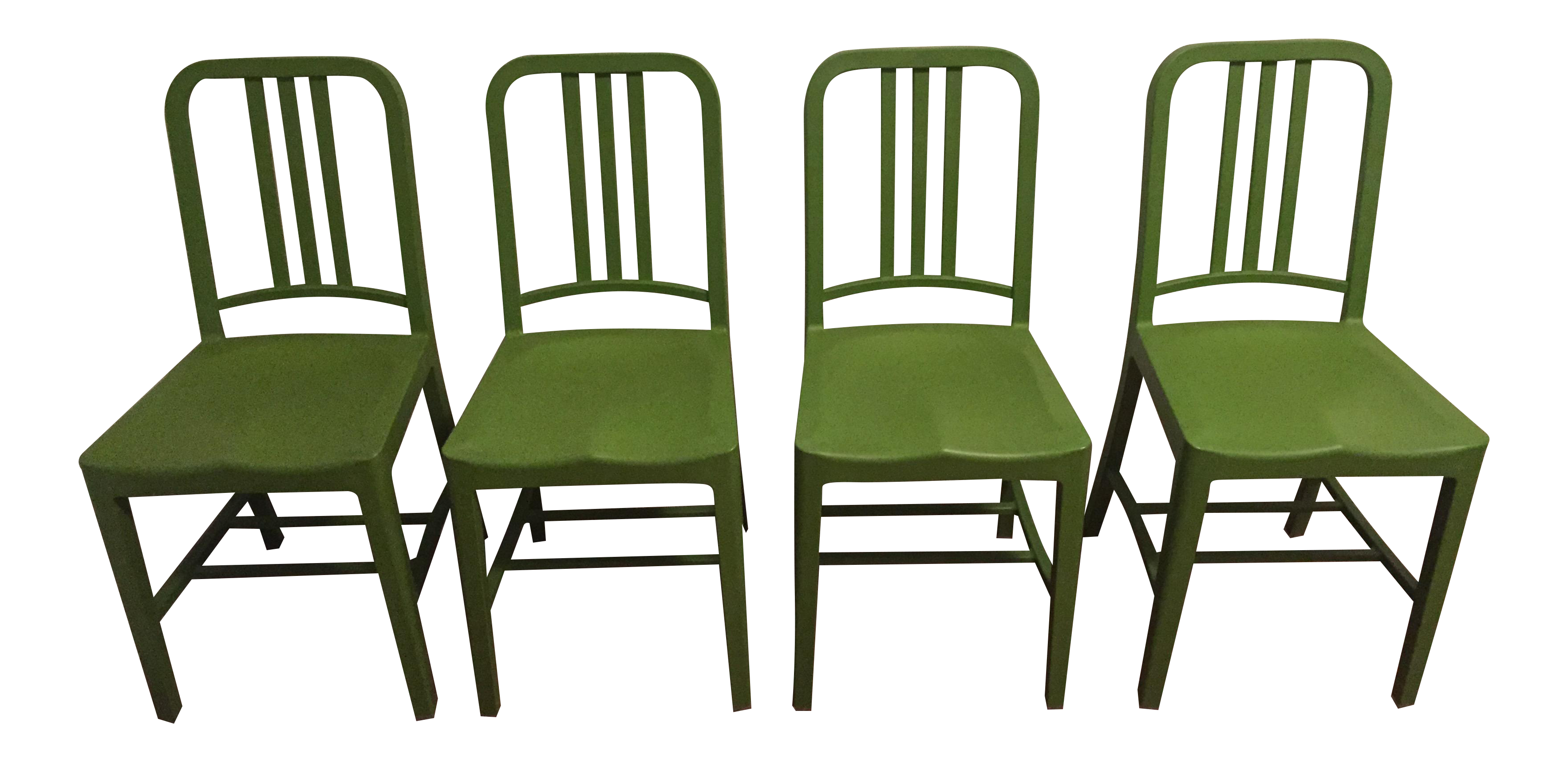 Green Emeco 111 Navy Chairs   Set Of 4