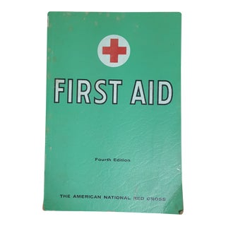 1950's Vintage First Aid Book For Sale