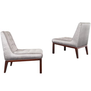 Dunbar Slipper Chairs by Edward J. Wormley For Sale