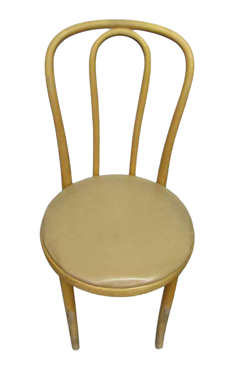 Cream Thonet Bentwood Chair For Sale