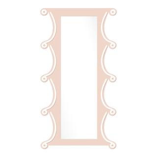 Fleur Home x Chairish Voodoo Mirror in Pink Ground, 42x84 For Sale