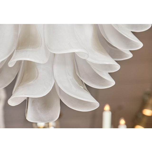 "Murano Glass ""Selle"" Chandelier For Sale In Austin - Image 6 of 10"