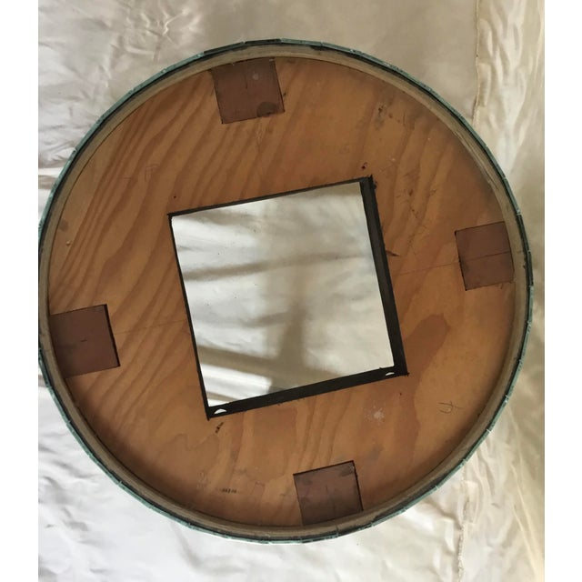 1980s 1980s Larry Hagman's Mirrored Vanity Stool For Sale - Image 5 of 7