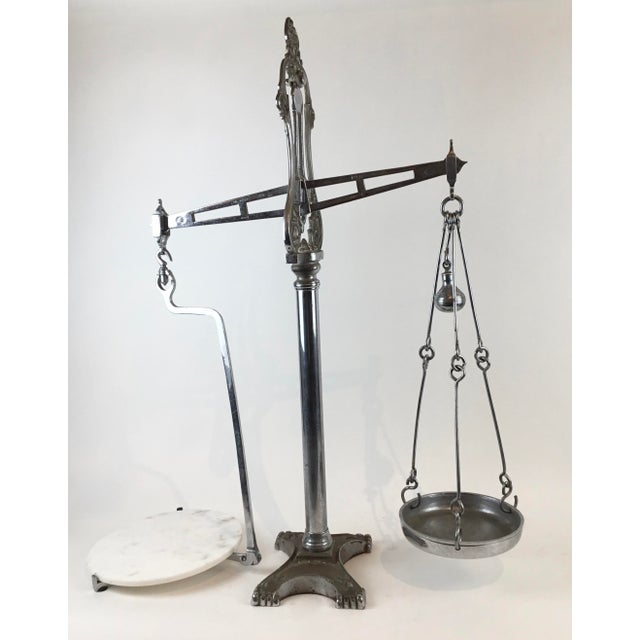 19th C. Hunt & Co. Balance Scale - London For Sale - Image 4 of 13