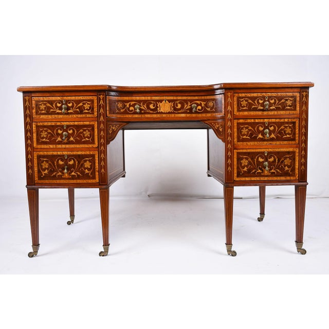 Antique Edwards & Roberts English-Style Desk - Image 2 of 11