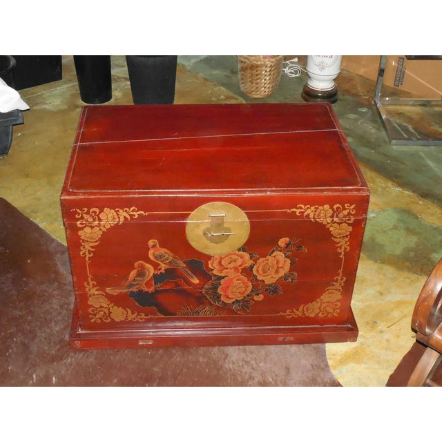 Painted and Gilt Chinese Trunk C.1925 - Image 4 of 8