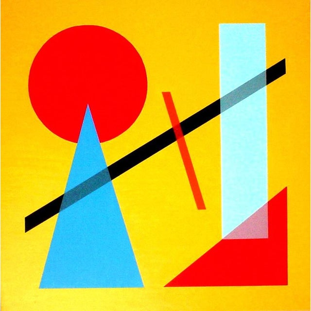 As with all things Jaro, this contemporary oil painting on canvas speaks to an age gone by, when geometric shapes and...