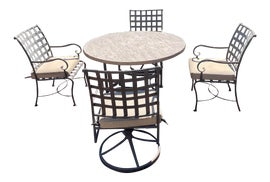 Image of Steel Outdoor Dining Sets