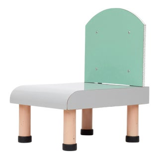 Sottsass Style Memphis Chair, Italy, 1980s For Sale