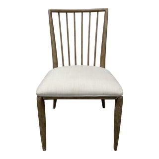 Thomasville Furniture Ellen Degeneres Slat-Back Oak Dining Side Chair For Sale