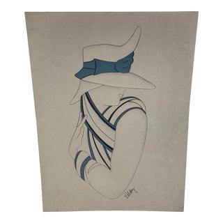 Minimalist Plush Fabric Woman Silhouette Wall Decor by Phillip Valdez For Sale