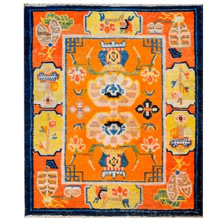 Outstanding 19th Century Tibetan Rug For Sale