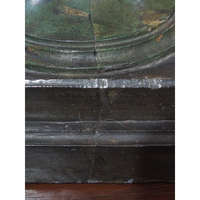 Vintage Single Italian Painted Urn Lamp For Sale - Image 10 of 11