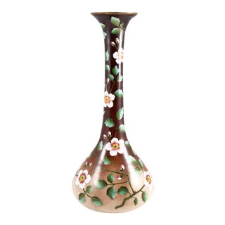 19th Century French Opaline Cased Glass Vase For Sale