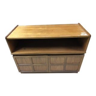 Vintage Mid Century Nathan Cabinet For Sale