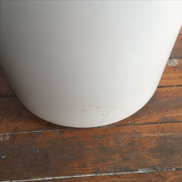 Matte White Ac-12 Gainey Ceramics Planter For Sale - Image 7 of 7